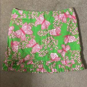 Lily Pulitzer Printed Mini Skirt